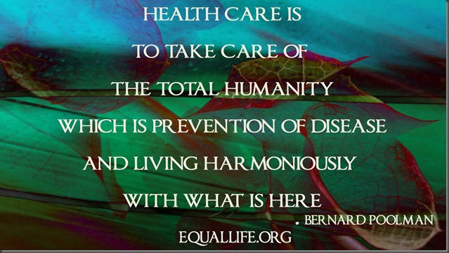 Health Care is Prevention