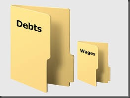 debts wages